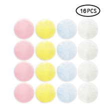 16Pcs/lot Reusable Cotton Pads Make up Facial Remover Double layer Wipe Nail Art Cleaning Washable with Laundry Bag