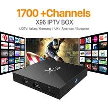 Последние X96 S905X Amlogic Quad Core Android 6.0 IPTV TV BOX 2 Г/16 Г КОДИ 16.1 4 К Smart Android Tv box ПК M8s T95 Set Top Box X96