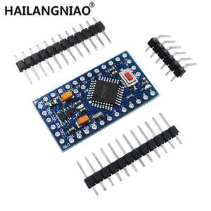 Image 2 - 10Pcs Pro Mini 168/328 Atmega168 5V 16M / ATMEGA328P MU 328P Mini ATMEGA328 5V/16MHz For Arduino Compatible Nano Module