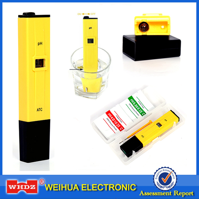 Special Price Portable Digital PH Meter Tester Medidor PH 0.0-14.0 PH High Accuracy for Drink Food Lab PH Monitor ATC Pocket Pen Type Analyzer