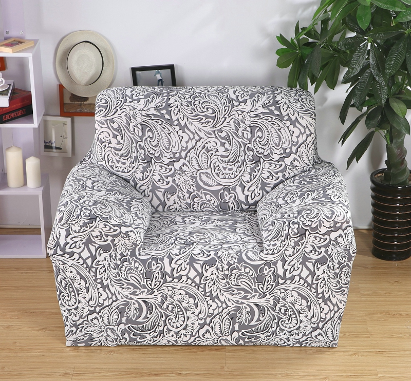SMAVIA Fashion Recliner Cover Elasticity L-shaped Chaise Cover Single Chair/Love seat/Three Seat Slipcovers Non-slip Couch Cover