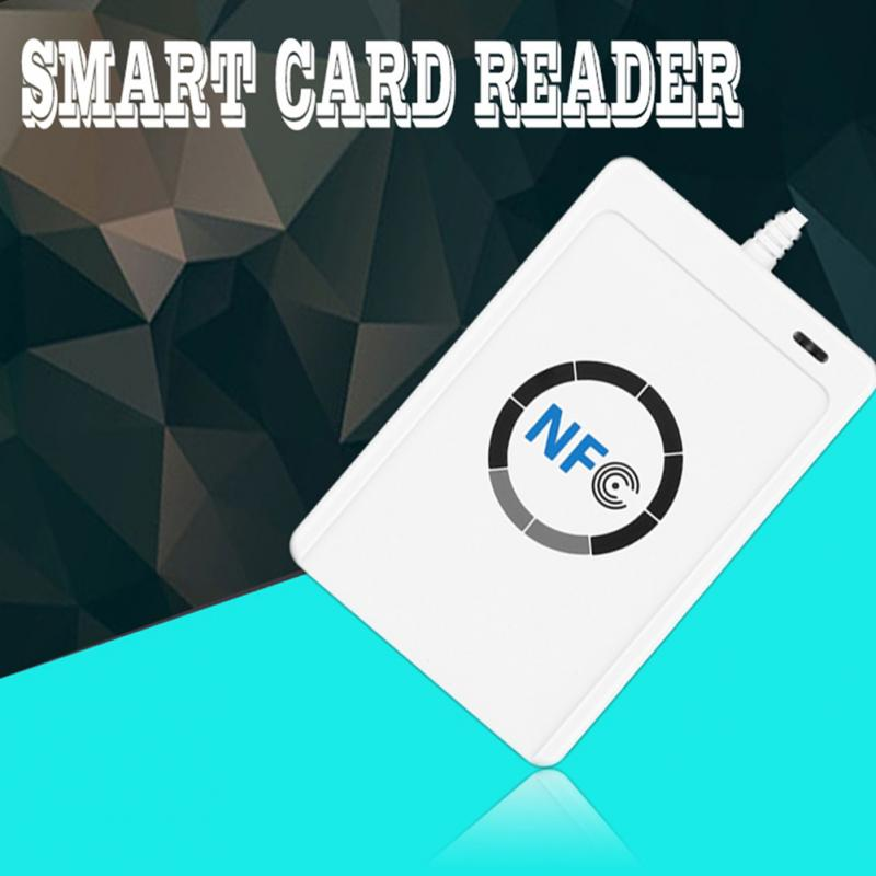 NFC ACR122U RFID Contactless smart Reader and Writer/USB + SDK + Mifare IC Card nfc contactless readers acr122u usb nfc reader