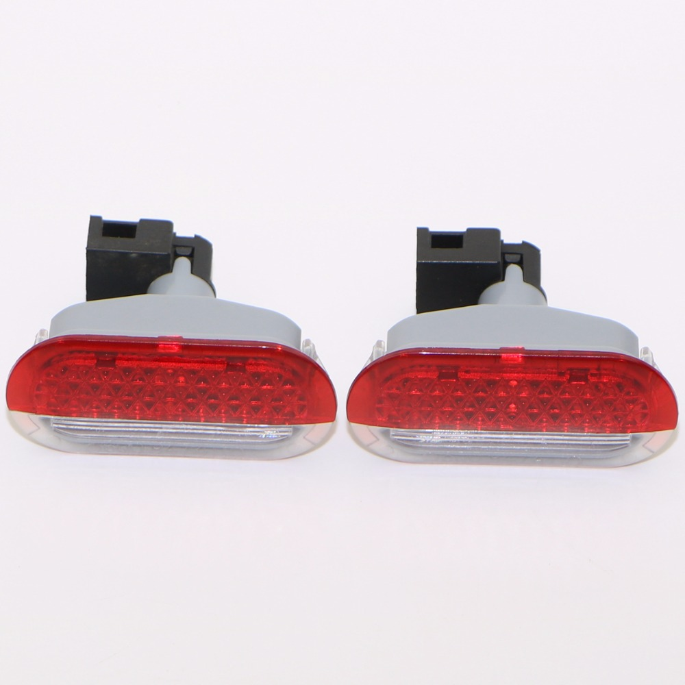 2Pcs VW OEM Car Door Light Door Lamp Lighting for VW Golf 4 MK4 Bora Polo Polo 6R 1J0 949 105A 1J0 947 413 1J0949105A 1J0947413 oem glove box lights set 8kd 947 415 c 4b0 947 415 a 8d0 947 415 fit vw audi a3 a4 a5 a6 allroad quattro a7 q3 q5 q7 tt