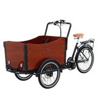 Bicicleta elétrica da carga da roda do triciclo 3  bicicleta elétrica da carga do pedal/triciclo da carga|Processadores de alimentos| |  -