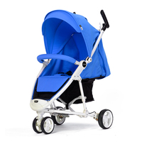 WLA Healthy Baby Stroller High Landscape Baby Stroller Light European Style Baby Stroller Eco Folding Tricycle