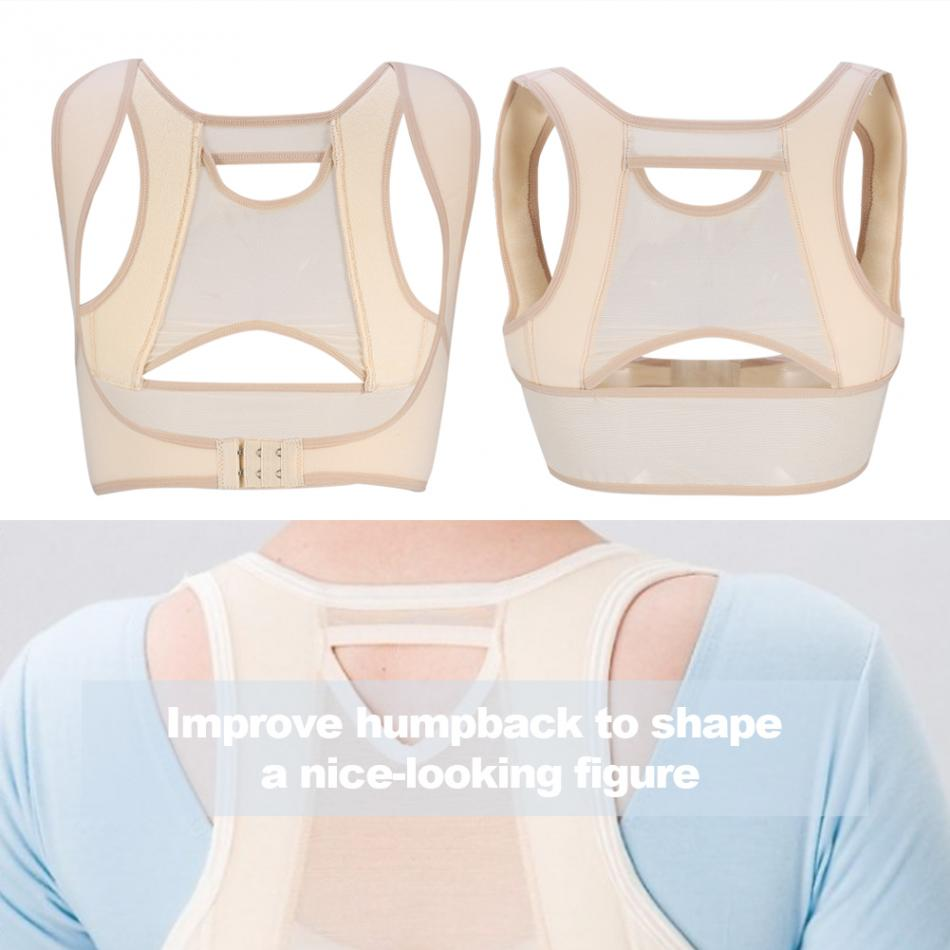 Invisibility Posture Corrector Belt for Men and Women Made of Nylon and Spandex with Adjustable Buckle for Correcting Sitting Postures and Protect Eyesight 7