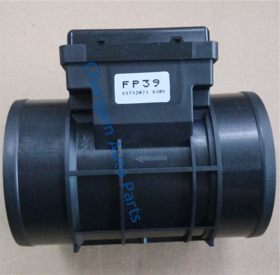 Original Mass Air Flow Sensor  MAF OEM# E5T52071 FP39  For Mazda Protege1.8 Tracker Vitara 1.6L/2.0L mass air flow maf sensor oem f37f 12b579 fa f37f12b579fa for mazda b 3000 taurus sable tracer k m