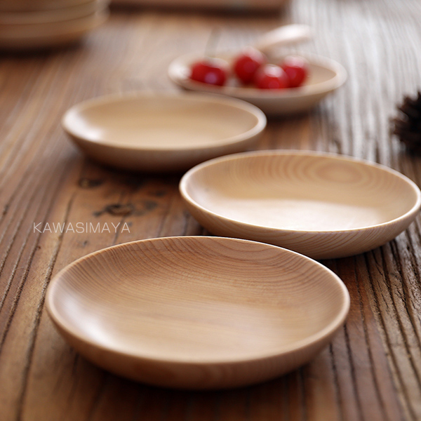 Japan Style Zakka wooden dishes plates tableware creative decorative fruit dessert plate wood dry fruit plate & Japan Style Zakka wooden dishes plates tableware creative decorative ...
