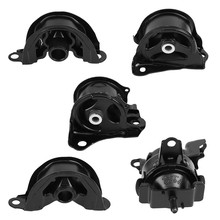 4 pcs Car Engine Motor Mount& 1 pcs Transmission Mount 50842-ST0-N81 for Honda Civic 1.6L 1996 1997 1998 1999 2000 Motor Mount(China)