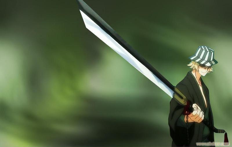 [CI] — Hueco Mundo, A Forja Abissal BLEACH-Urahara-Kisuke-Shikai-Benihime-Crimson-Princess-sword-katana-Cosplay-prop-110cm-0019