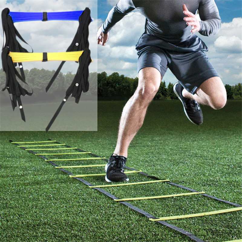 Durable 3.5m 5m 5.5m 7m Agility Ladder for Soccer Speed Training PP material Football Training Ladder Gym Fitness Equipment