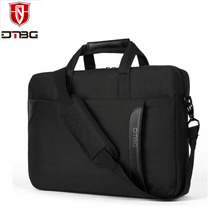 New Arrival 15.6 Inch Men Laptop Shoulder Bag Nylon Messenger Bag Fashion Briefcase Handbag Laptop Case for HP / Lenovo / Dell