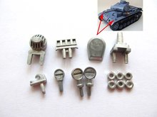 Mato upper hull metal part set  for  1/16 1:16 RC Panzer III, IIIH tank,metal upgraded parts