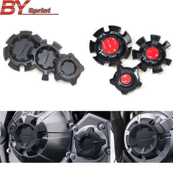 Free shipping ABS Motorbike NEW accessories Motorcycle Engine Stator Cover Engine Protective Cover For kawasaki z900 Z 900 2017+ - DISCOUNT ITEM  16% OFF All Category