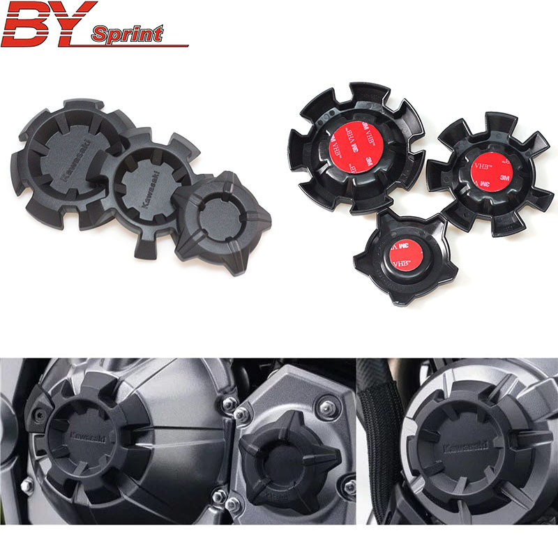 Free shipping ABS Motorbike NEW <font><b>accessories</b></font> Motorcycle Engine Stator Cover Engine Protective Cover For <font><b>kawasaki</b></font> <font><b>z900</b></font> Z 900 2017+ image