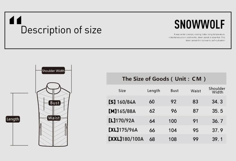 Snowwolf 2019 mulheres ao ar livre roupas