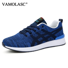 VAMOLASC New Men's Sport DMX Cushioning Running Shoes Air Mesh Breathable Outdoor Sneakers