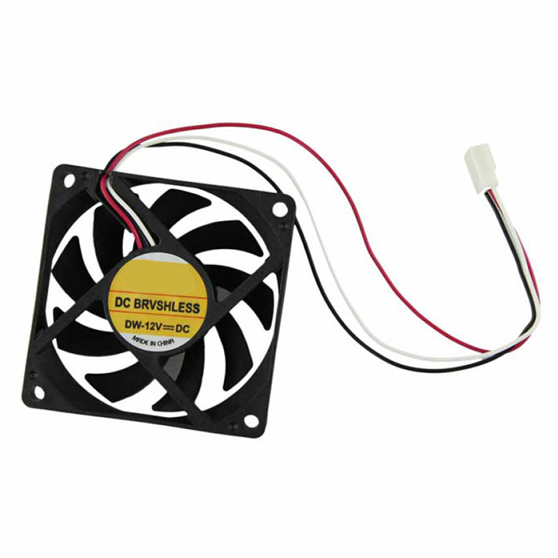 Binmer high quality Computer Case Cooler 12V 7CM 70MM PC CPU Cooling Cooler Fan Dropshipping 18Mar1 1 piece gdstime 3pin dc fan 80mm 80x80x10mm 8cm 12v pc computer cpu cooler cooling fan 3 wire fg 8010 mute cooler high quality
