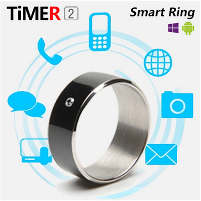 TimeR2 Smart Ring App Enabled Wearable Technology Magic Ring per NFC Phone Smart Accessories Componente elettronica Trendy a 3 prove