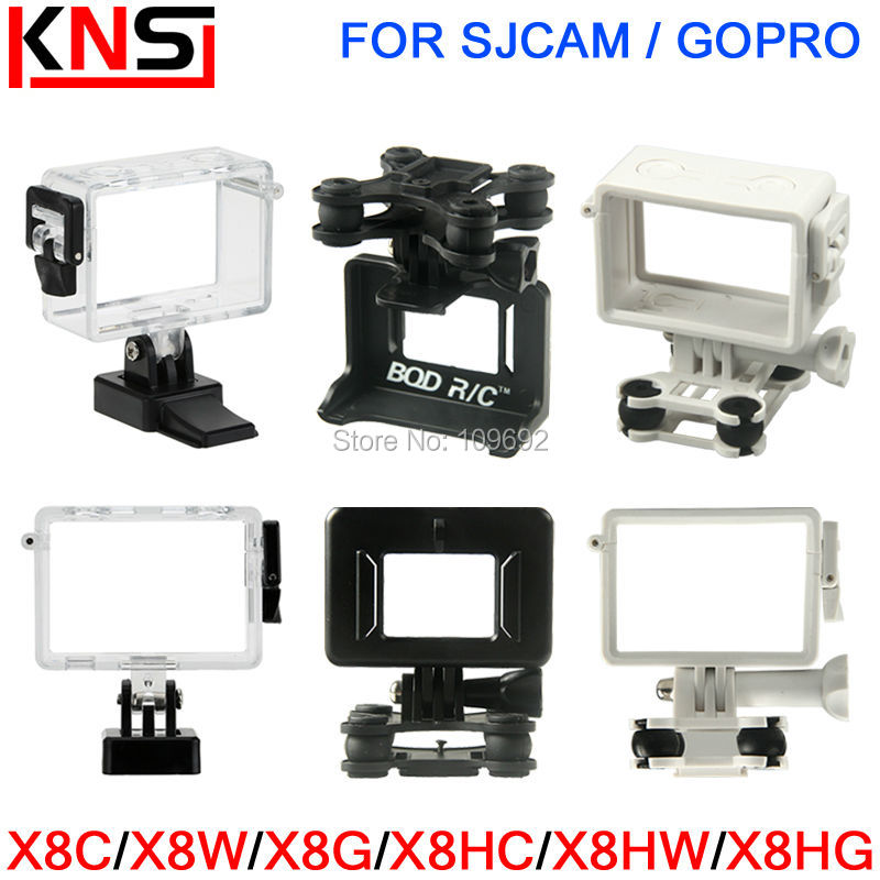 SYMA X8 X8C X8W X8G X8HC X8HW X8HG Camera Mount Holder Gimbal Gimble RC Quadcopter Drone Spare Parts For SJCAM GOPRO Accessories syma upgraded 8 0mp 1080p hd camera for x8g x8hg x8c x8hc x8w x8hw rc quadcopter