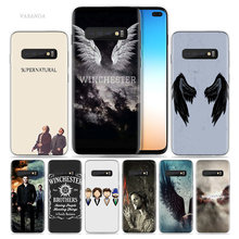 Supernatural Case for Samsung Galaxy S8 S9 S10 5G S10e S7 Note 8 9 10 J4 J6 Plus J5 J8 2018 J3 Silicone TV Show Phone Bags Cover(China)