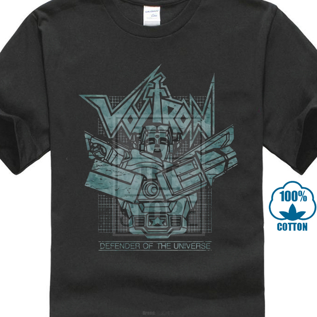 71ea3cda8 Voltron Defender Of The Universe Licensed Adult T Shirt-in T-Shirts ...