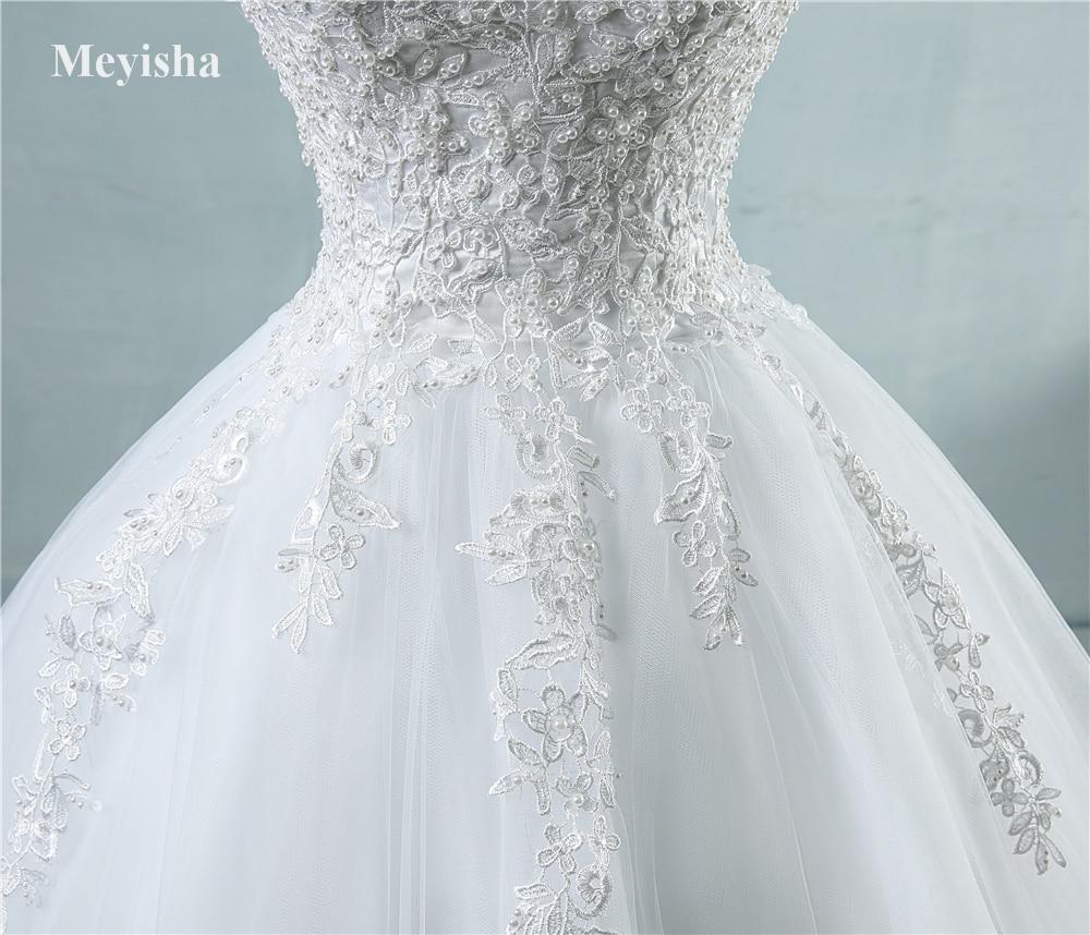 White Ivory Tulle Bridal Dress For Wedding Dresses  5