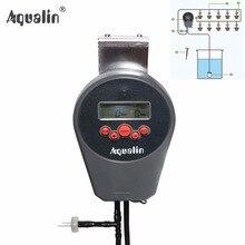 Автоматическая ЖК-дисплей Дисплей капельного полива комплект цветник вода таймер полива комплект со встроенным Высокое качество мембраны насос #22078