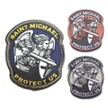 Us Tactical Usa Army Morale Modern Saint ST.Michael Protect USA ACU Patch Badge Embroidered Armband Hook Patches(SWAT)