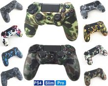 PS4 Accessories Silicone Gel Guards sleeve Skin Grips Cover Case Caps For Playstation 4 PS4 Pro