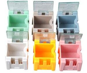 Image 2 - Fast Shipping 50Pcs SMD SMTส่วนประกอบกล่องเก็บกล่องอิเล็กทรอนิกส์ชุด 1 # โดยอัตโนมัติPops Up Patchกล่อง