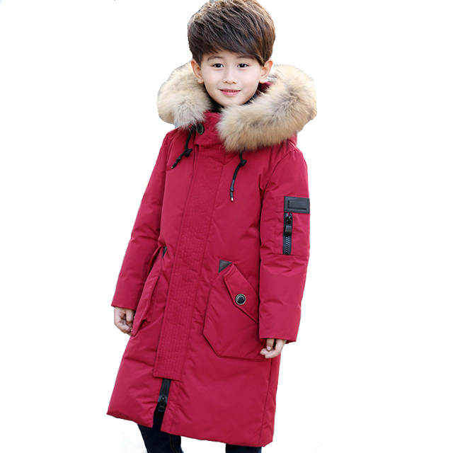 1c2e3f9bd Online Shop -30 Degree Thick Warm Down Jackets Winter Boys And Girls ...