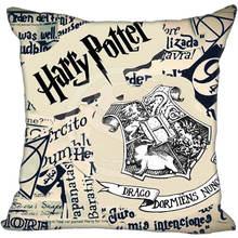 Hot Sale Custom Harry Potter Unique Logo Pillowcase 40X40cm (duplex prints)Home Hot Pillow Cases 9-22T