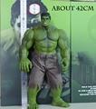Marvel Super Hero Серии 42 см Халк Фигурки ПВХ Модель Статуя Коллекционная Игрушка большой размер (Нет оригинальная коробка упаковка)