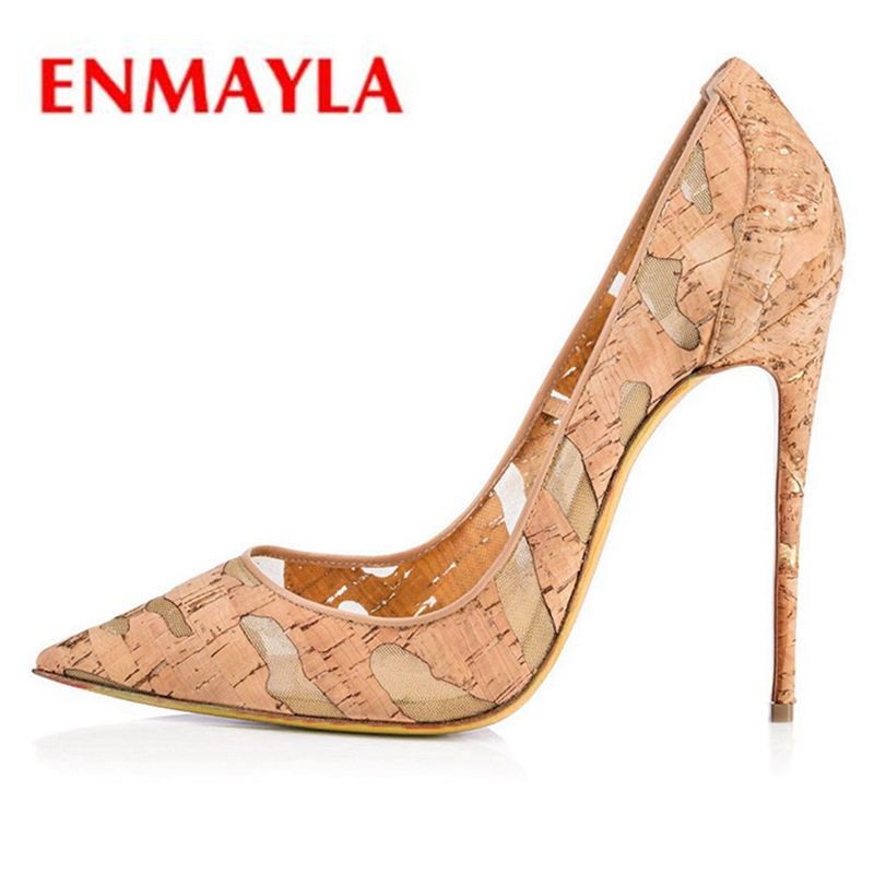ENMAYLA PU  Pointed Toe  Casual  Slip-On  Thin Heels  Shoes Woman  Ladies Shoes  High Heels Size34-43 ZYL2254ENMAYLA PU  Pointed Toe  Casual  Slip-On  Thin Heels  Shoes Woman  Ladies Shoes  High Heels Size34-43 ZYL2254