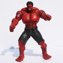 Super Heros 26Cm De Rode Hulk Action Figure Super Held Speelgoed Gratis Verzending