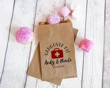 custom hangover survival kit popcorn candy Buffet treat bags BIRTHDAY Wedding Bridal baby Shower Bakery Cookie Favors packets(China)