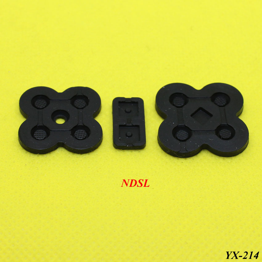 Купить с кэшбэком Rubber Conductive Buttons A-B D-pad for Game Boy Classic GB GBC GBP GBA SP XBOX360 ONE PS2 3 4 Silicone Start Select Keypad