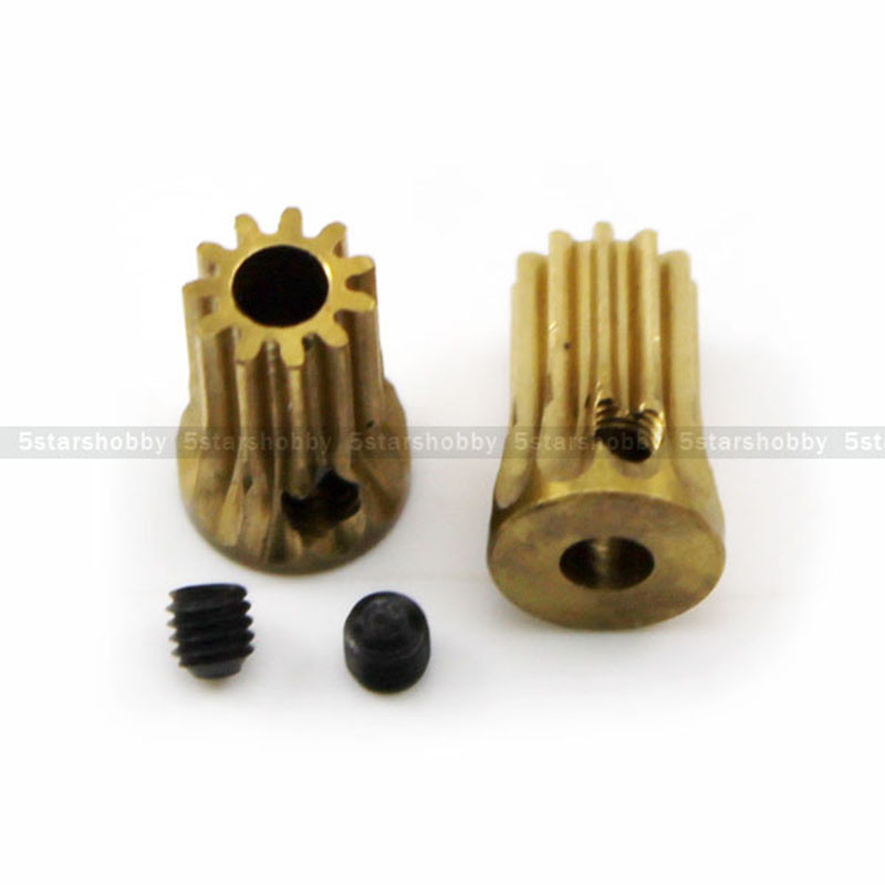 2Pcs 11T 3.17mm 450 Motor Pinion Gear For Trex T-Rex 450 Helicopter цена и фото