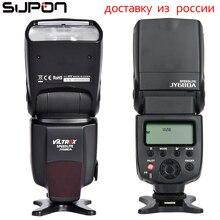 2017 VILTROX JY-680A Универсальный ЖК-дисплей вспышка Speedlight для Canon/Nikon/Pentax/Olympus Камера
