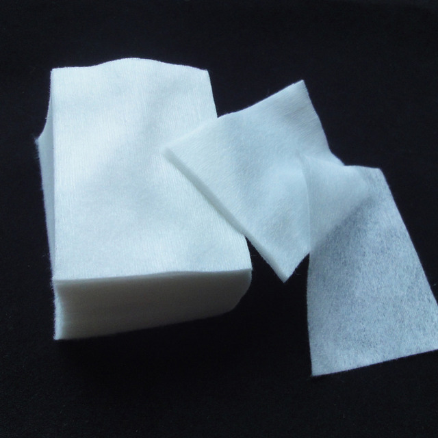 400 Шт./лот Новый Лак Для Ногтей Чистящие Салфетки Хлопок Ногтей Remover Бумаги Колодки Макияж Инструменты