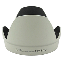 JJC LH-83G(W) Pro Lens Hood Shade for Canon EF 28-300mm f/3.5-5.6L IS Lens Replaces Canon EW-83G White