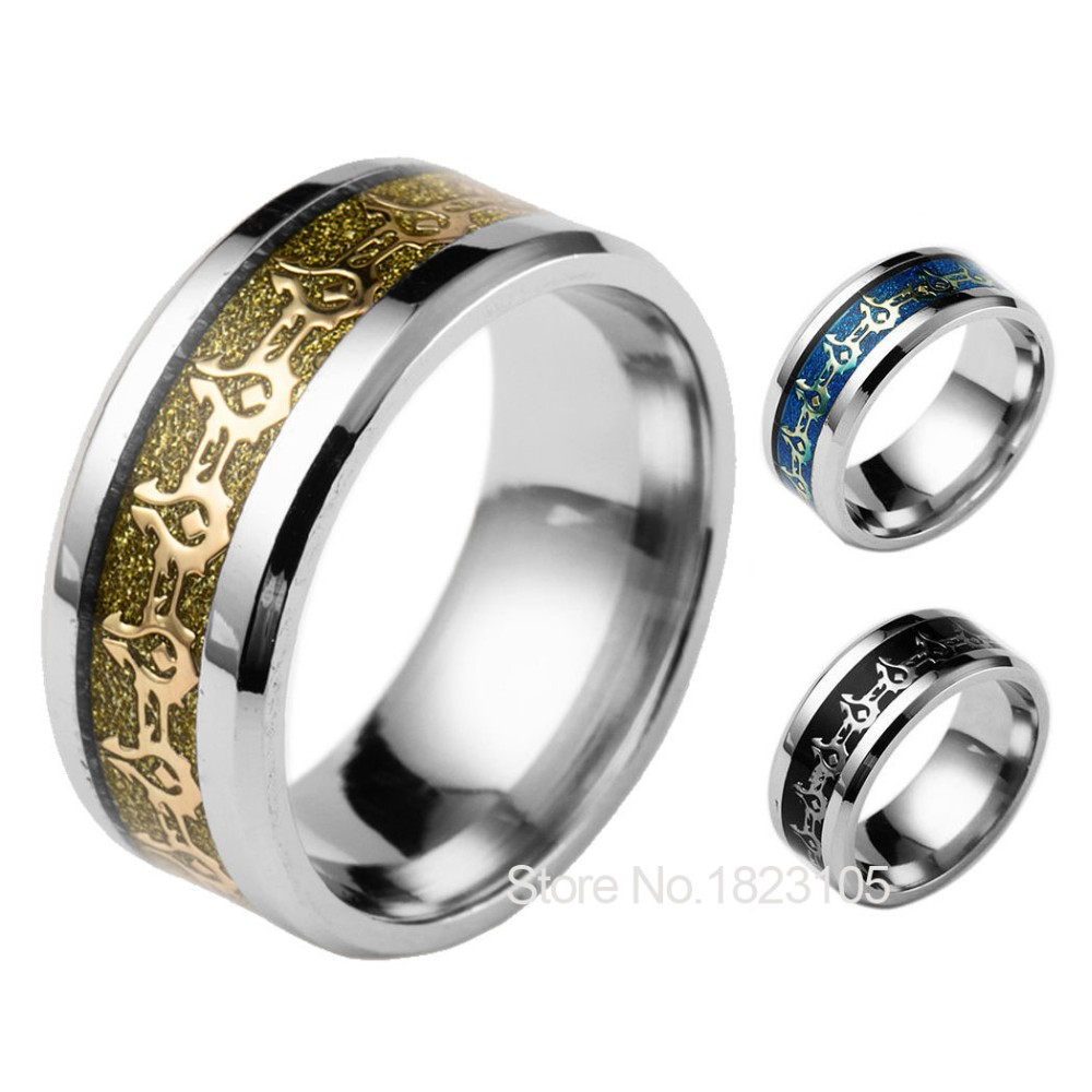 World of Warcraft Stainless Steel Ring