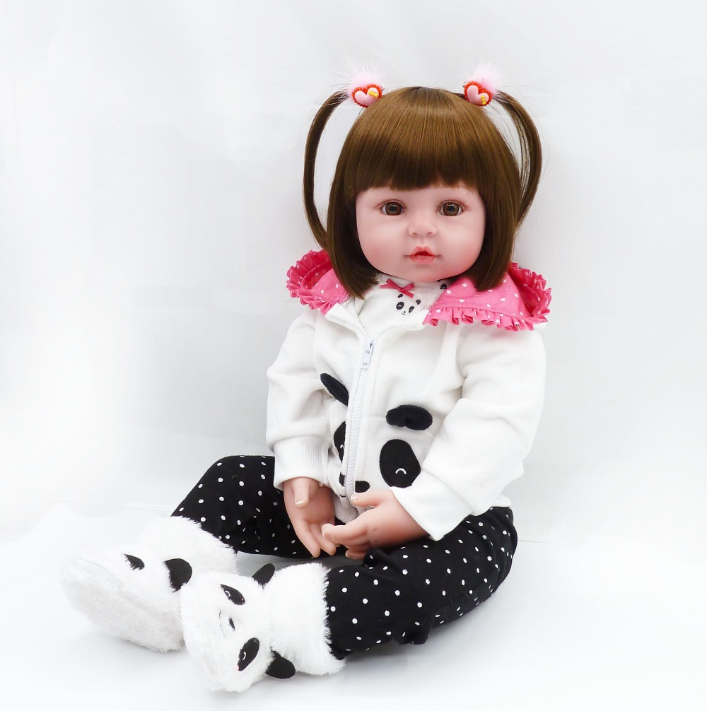 Soft Floppy Body Real Life Baby Cuddle Princess Doll Long Hair Laura, 24 Inch Lifelike Toddler Infant Doll Weighted for Snuggle : 91lifestyle
