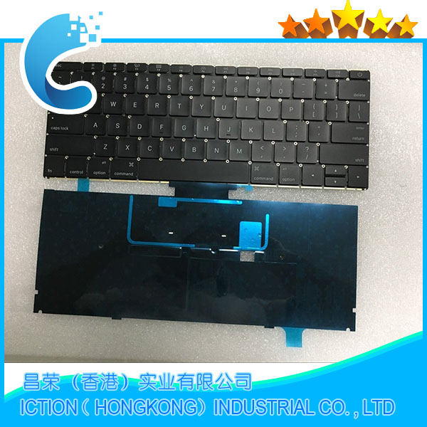 100 Original Laptop A1534 Keyboard US version For Macbook A1534 US Keyboard Replacement 2015 Year