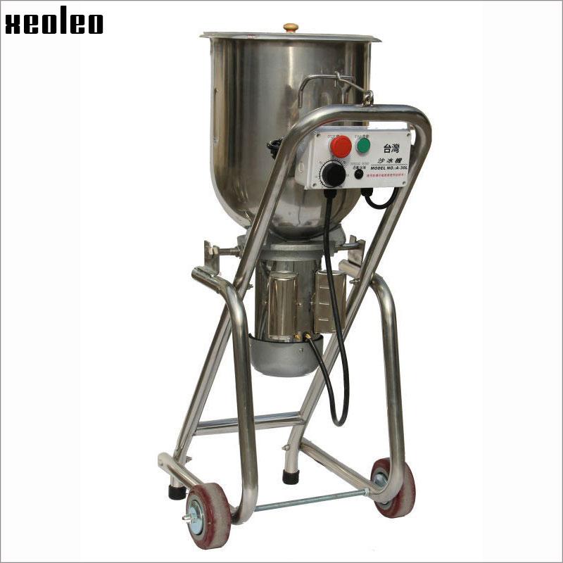 XEOLEO Commercial Ice Blender 30L Multifunction Blend machine 1500W Food blender stainless steel Mashing machine Fruit&Vegetable