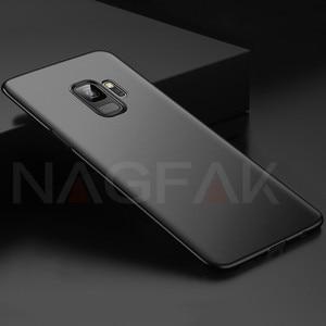 Image 5 - NAGFAK Luxury Matte Hard Phone Case For Samsung Galaxy S9 S9Plus S8 S8Plus S7 S6 Edge Cover Ultra Thin PC Plastic Phone Bag Case