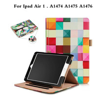 Luxury Business Case Super PU Leather Hand Strap Stand Cover For Apple Ipad Air 1 A1474