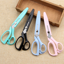 купить Wear Cover Professional Stainless Steel Tailor's Scissors Sewing Scissors Fabric Shears for Embroidery Cross Stitch Crafts Tools по цене 527.31 рублей