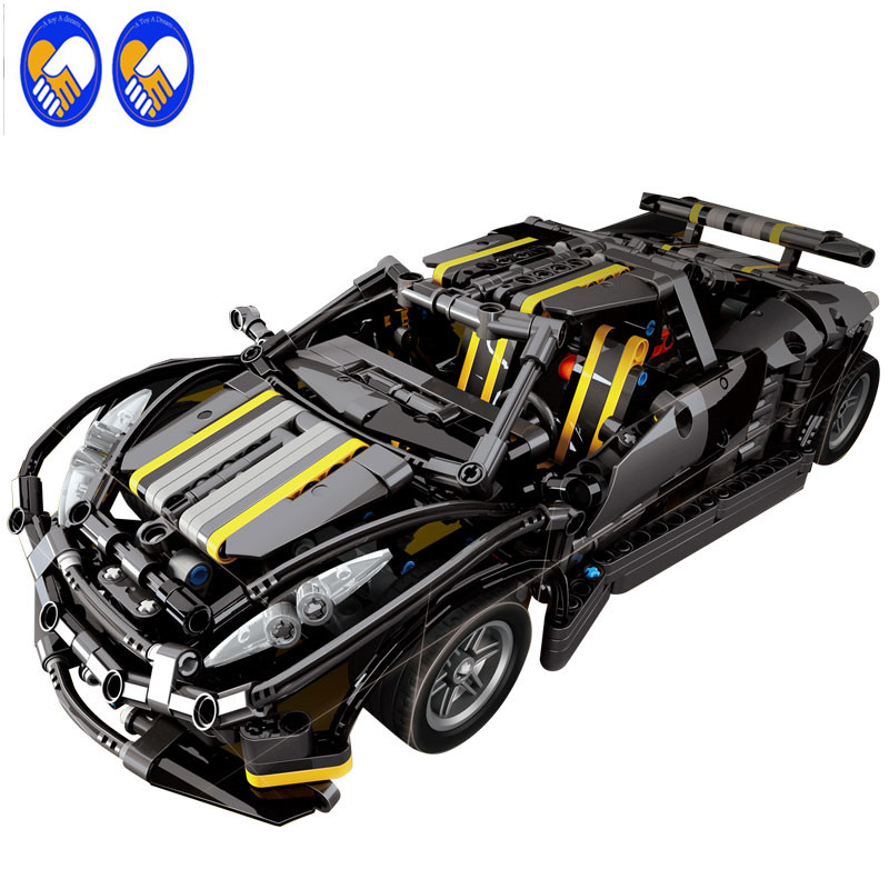 A Toy A Dream 7002 MOC Series The Balisong small Supercar Set children Educational Building Blocks Bricks Toys Model Gifts small pineapple ru bun lock children puzzle toy building blocks